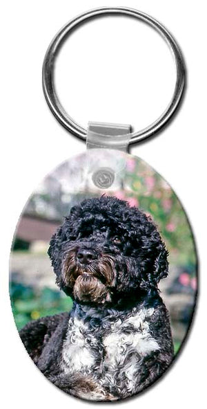 Portugese Water Dog  Key Chain