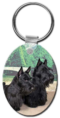 Scottish Terrier  Key Chain