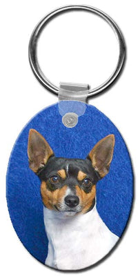 Toy Fox Terrier  Key Chain