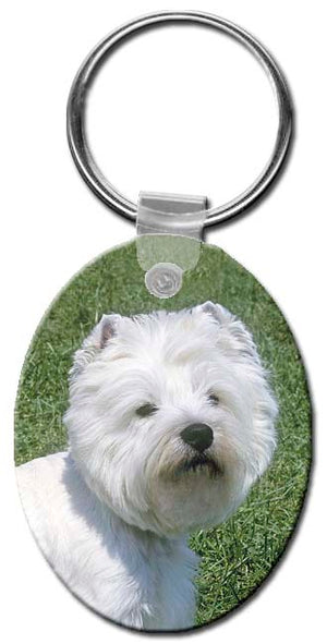 West Highland White Terrier  Key Chain
