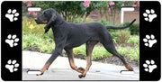 Black & Tan Coonhound License Plate