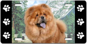 Chow Chow License Plate