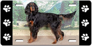 Gordon Setter License Plate