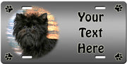 Personalized Affenpinscher License Plate