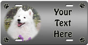 Personalized American Eskimo License Plate