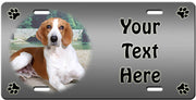 Personalized American Foxhound License Plate