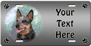 Personalized Australian Cattle Dog License Plate