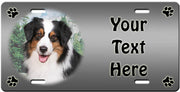 Personalized Australian Shepherd License Plate