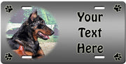 Personalized Beauceron License Plate