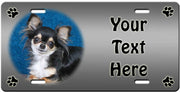 Personalized Chihuahua - Long License Plate