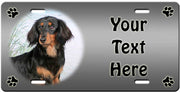 Personalized Dachshund - Long License Plate
