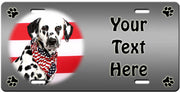 Personalized Dalmatian License Plate