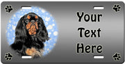 Personalized English Toy Spaniel License Plate