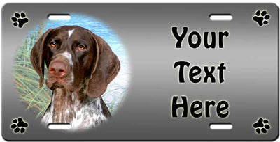 Personalized German Shorthaired Pointer License Plate
