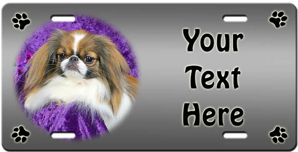 Personalized Japanese Chin License Plate