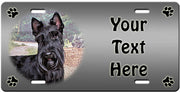 Personalized Scottish Terrier License Plate
