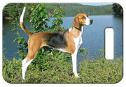 American Foxhound Luggage Tag