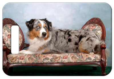 Australian Shepherd Luggage Tag