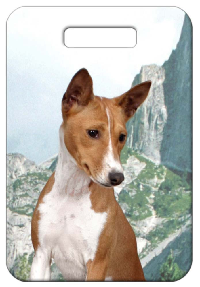 Basenji Luggage Tag