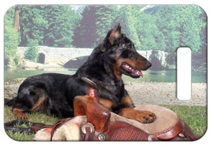 Beauceron Luggage Tag