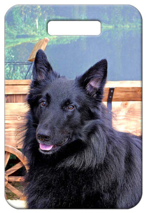 Belgian Sheepdog Luggage Tag