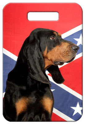 Black & Tan Coonhound Luggage Tag