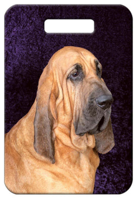 Bloodhound Luggage Tag