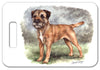 Border Terrier Luggage Tag