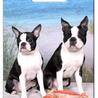 Boston Terrier Luggage Tag