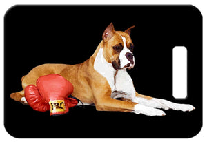 Boxer Luggage Tag
