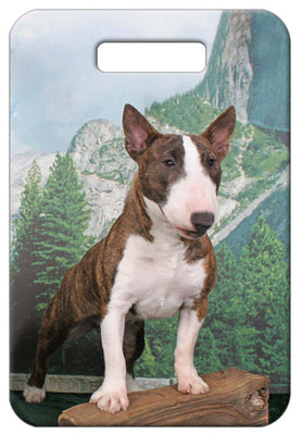 Bull Terrier Luggage Tag