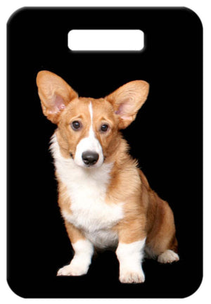 Cardigan Welsh Corgi Luggage Tag