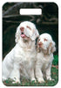 Clumber Spaniel Luggage Tag