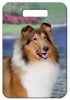 Collie Rough Luggage Tag