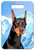 Doberman Pinscher Luggage Tag