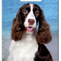 English Springer Spaniel Luggage Tag