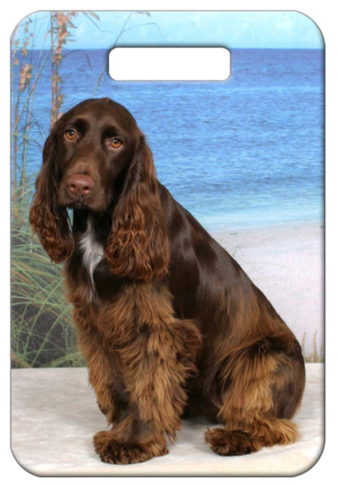Field Spaniel Luggage Tag