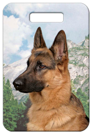 German Shepherd Luggage Tag