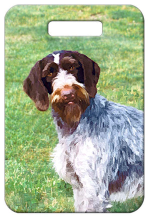 German Wirehaired Pointer Luggage Tag