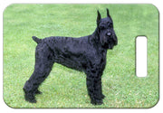 Giant Schnauzer Luggage Tag