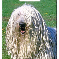 Komondor Luggage Tag
