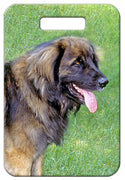 Leonberger Luggage Tag