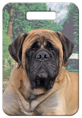 Mastiff Luggage Tag