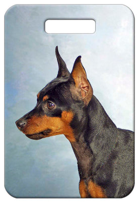 Miniature Pinscher Luggage Tag