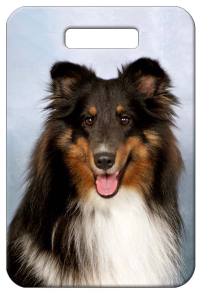Sheltie Shetland Sheepdog Luggage Tag
