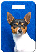 Toy Fox Terrier Luggage Tag