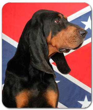 Black & Tan Coonhound Mousepad