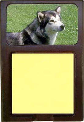 Alaskan Malamute Note Holder