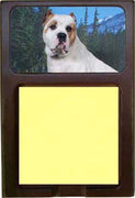 American Bulldog Note Holder