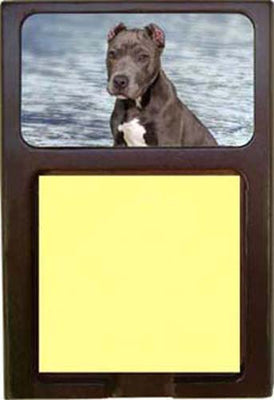 American Staffordshire Terrier Note Holder
